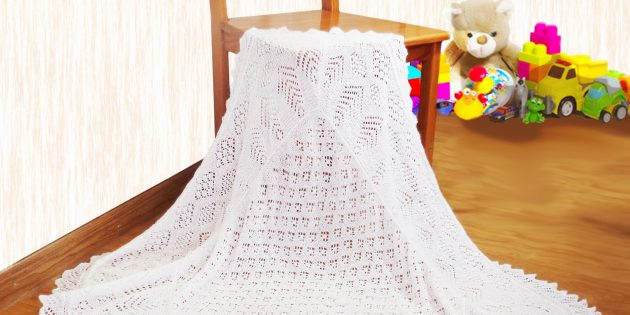 tree of life lace shawl
